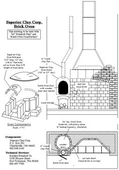 Superior Clay brick over and fireplace Rumford Fireplace, Wood Fireplace, Fireplace Design, Smokehouse Bbq, Brick Bbq, Household Organization, Stove Oven, Hearth And Home, Natural Building