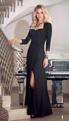 7d4c55f0f1 Affordable Strapless Black Chiffon Ruched Floor Length A-line Mother of the  bride dresses  Wedding Party Dresses 70716