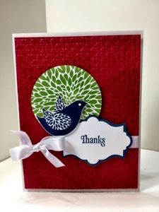 Karen's Kraft Room: Bestys Blossom New Set and colors from Stampin' Up