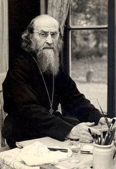 Sophrony - Seeking Perfection in the World of Art: The Artistic Path of Father Sophrony – Orthodox Arts Journal Pray Always, Byzantine Icons, Orthodox Christianity, Orthodox Icons, Christian Faith, Priest, Art World, Father, People