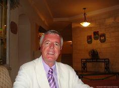 Peter Broell im Hotel Sandy Lane in Barbados, 2009