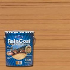 5-gal. Raincoat Tinted Natural Cedar Water Repellent Sealer
