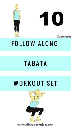 Short Tabata Workout Set #fitness #cardio Tabata Workouts, Easy Workouts, Cardio, Hiit At Home, At Home Gym, Circuit Training, Workout Guide, Muscle Groups, Along The Way