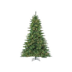 Sterling 7.5' Layered Wellington Pine Artificial Christmas Tree, Multicolor