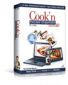 I won the Cook'n Recipe Organizer, thanks to Addicted Reviews!