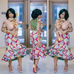 0000 It's time for a new Ankara styles series! We are delighted to bring you the trendy and amazing Ankara Styles to style-steal. Ankara styles are just fabulous outfits with awesome… African Print Dresses, African Print Fashion, Africa Fashion, African Fashion Dresses, African Dress, African Prints, Ankara Fashion, Ghanaian Fashion, African Outfits