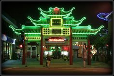 Los Angeles China town @ night by Lori_Bucci_Photography, via Flickr