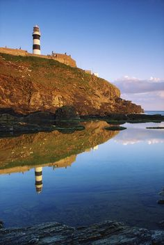 ✮ Old Head Of Kinsale, County Cork, Ireland Lighthouse On Cliff
