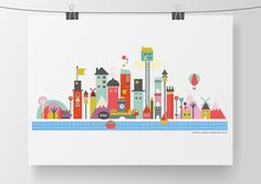 'This City' Designed by Rebecca Allred