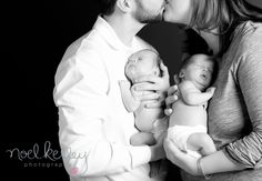 This is a good pose if your having twins and with there parents. This is also good for little newborns too