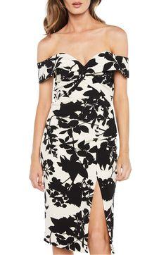 205e8b7d951 Bardot Botanica Off the Shoulder Dress
