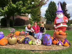 The 2015 Purple Pumpkin Painting Party........thanks to kim, elaine, rosemary, kathy, mindy, deb, anna, zoe, joannie, kaye, madison, brad, and to those who plan to paint pumpkins for epilepsy awareness!