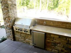 For our walk out basement patio/pool/ wouldn't this be a novel idea under a deck?