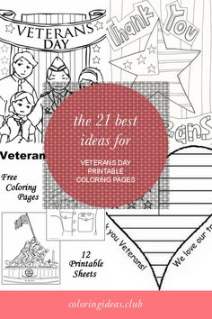 The 21 Best Ideas for Veterans Day Printable Coloring Pages . Coloring pages and also printables for youngsters of all agesThe Hellokids printables is not only fun but has lots … Tree Coloring Page, Flower Coloring Pages, Free Coloring, Coloring Pages For Kids, Coloring Sheets, Free Veterans Day, Veterans Day Coloring Page, Thanksgiving Coloring Pages, Little Learners