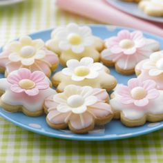 lovely daisy cookies