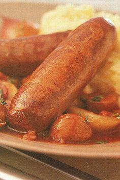 Vension Sausage Casserole