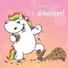 Ich liebe es, den Fußboden zu dekorieren! #pummeleinhorn #pummellove #love #einhorn #happy #kekse #cookies #krümeln