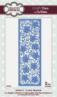 Creative Expressions: Craft Dies by Sue Wilson: The Stiplets Collection (Floral Meadow)