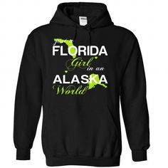 (FLJustXanhChuoi001) Just A Florida Girl In A Alaska Wo - #gift ideas #gift exchange. HURRY => https://www.sunfrog.com/Valentines/-28FLJustXanhChuoi001-29-Just-A-Florida-Girl-In-A-Alaska-World-Black-Hoodie.html?68278