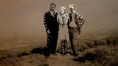 Vintage Photos Glow with Tiny Holes of Light - My Modern Metropolis