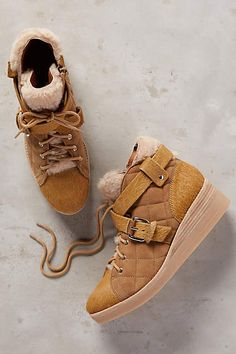 Derek Lam Elsa Shearling-Lined Boots - anthropologie.com