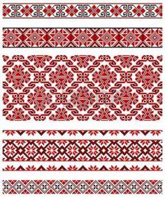 oekra%C3%AFens%3A+illustraties+van+Oekra%C3%83%C2%AFense+borduurwerk+ornamenten%2C+patronen%2C+frames+en+grenzen.