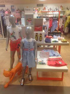 Children's/kids fashion summer visual merchandising display