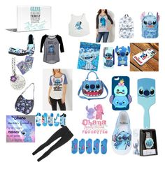"""""""I love stitch"""" by edenansell-i on Polyvore featuring beauty, Disney, dELiA*s, Current Mood and Acne Studios"""