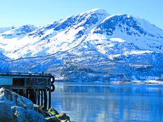 Fjord , at Målsnes , Norway