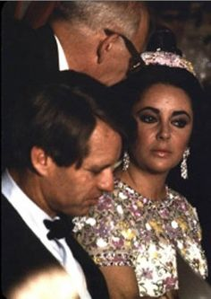 Bobby Kennedy and Elizabeth Taylor