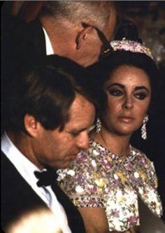 Bobby Kennedy and Elizabeth Taylor
