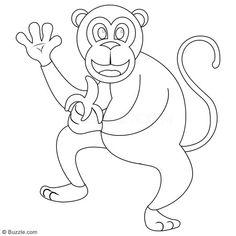 Kids, Go Ape! Step-by-step Instructions to Draw a Cartoon Monkey - Art Hearty Cartoon Monkey, Monkey Art, A Cartoon, Go Ape, Jane Goodall, Drawing Skills, Step By Step Instructions, Tudor, Disney Characters