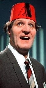 On this day 15th March, 1984, British comedian Tommy Cooper collapsed and died of a heart attack in front of millions of television viewers, midway through his act on the London Weekend Television variety show Live from her Majesty's. The viewers first thought it was part of his act but tragically it was for real, remember watching and slowly realising. .B. Lowe
