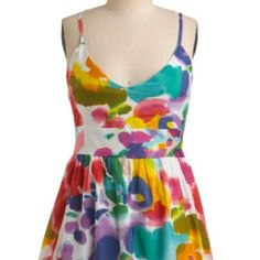 NWT floral sundress Perfect for summer fit-and-flare floral sundress by FASHION FUSE.  Size L.  Fits anywhere from a size 8-12.  Made in India.  Hits right above the knee.  100% cotton. Fashion Fuse Dresses