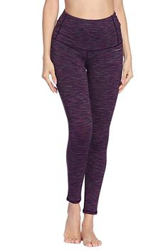 26293f3d0d7d8 Amazon.com  Dragon Fit Compression Yoga Pants Power Stretch Workout Leggings  with High Waist