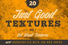 #Free #Download: 20 Handcrafted Ink Wash Textures from Nathan Brown
