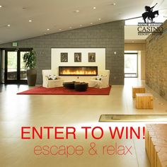 Re-pin to earn an entry! Who wants to enjoy Spa Ssakwaqn, play and stay at CDA Casino Resort in 2017? We're giving away FIVE Escape & Relax packages that include a one night stay in a standard mountain room, $10 extra play cash & $90 spa credit!