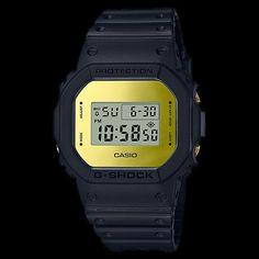 c4e2580b54c CASIO G-SHOCK GOLD DIGITAL SQUARE METALLIC MIRROR FACE WATCH DW5600BBMB-1D