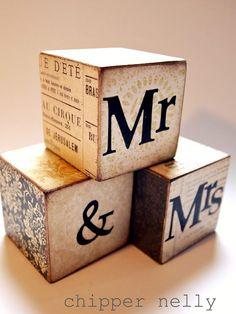 vintagey looking blocks * love these!