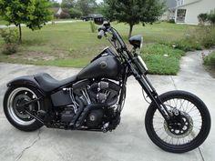 2007 Harley Night Train Springer Bobber Motorbike. #harleydavidsontrikemotorcycles