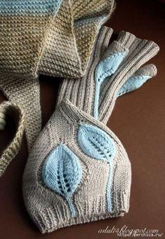 Очень классный берет (Вязание спицами) | Журнал Вдохновение Рукодельницы