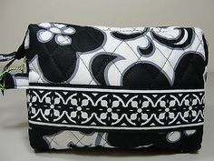 Free Shipping VERA BRADLEY Small Cosmetic Bag Purse Case Multi-pattern NWT