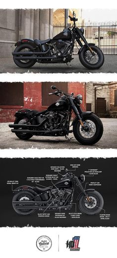 Modern power. Old iron attitude. | 2017 Harley-Davidson Softail Slim S