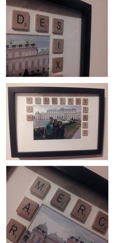 Un regalo genial! sencillo, manual y bonito! Más ideas de decoración con fotos en nuestros blog!