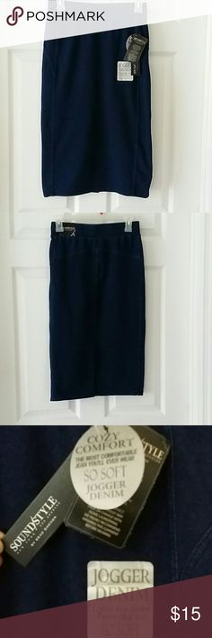 Skirt ( New ) Skirt ( New ) 80%Cotton,13%polyester,7%spandex, waist approximately 13 1/4 inches across, length approximately 26  1/4 inches Skirts