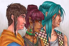 Profiles by Marker-Guru on deviantART