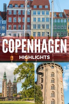 The highlights of a weekend in Copenhagen, Denmark, with the all the must-see places including the royal palaces, museums, and the picturesque waterfront and harbors. Visit Copenhagen!