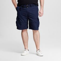 Men's Big & Tall Belted Cargo Shorts - Mossimo Supply Co.