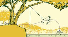 Must find water and a tree --> Just like driving while talking on your cell phone. But rope swings are way more fun. Here's how to make an epic (and safe) one.