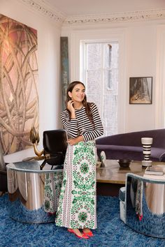 The founder of the high-end boutique shares advice on being a working mother and more.